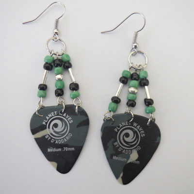 Camouflage Earrings