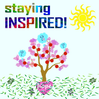 Staying Inspired planting4 27 20